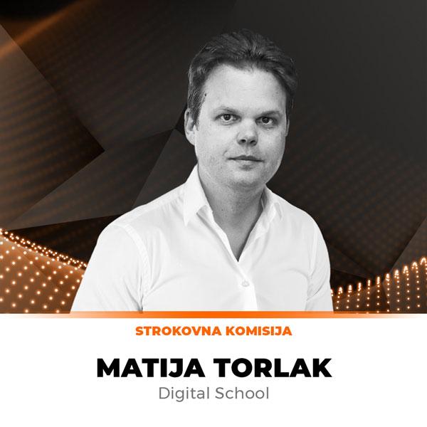 Matija Torlak, Digital School