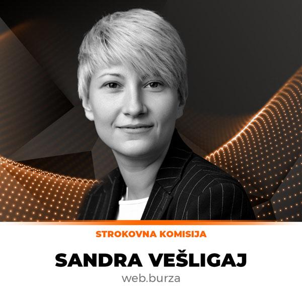 Sandra Vešligaj, web.burza